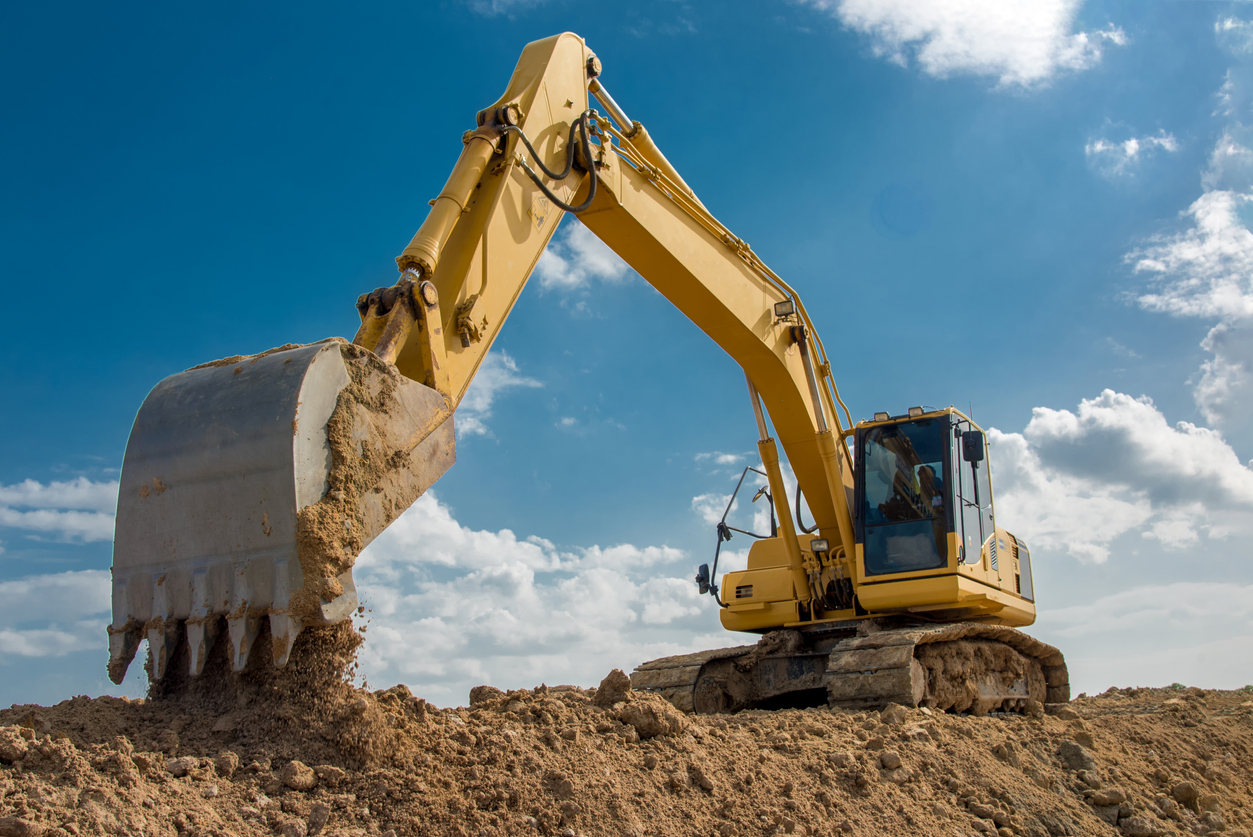 heavy construction equipment types